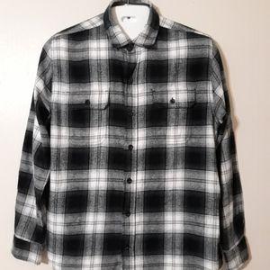 Mens woolrich long Sleeve plaid shirt